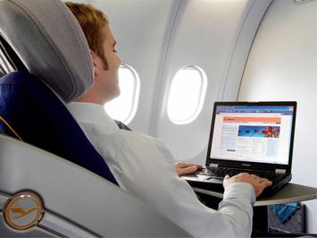 Internet në ajër  Lufthansa1