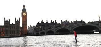 Magjistari britanik ecë mbi lumin Thames T5