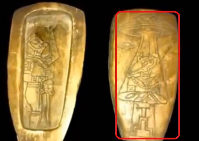 Meksika zbulon artefakte të fisit Maya: Dëshmohet kontakti i njerëzve me jashtëtokësorët (Foto) Mayac2