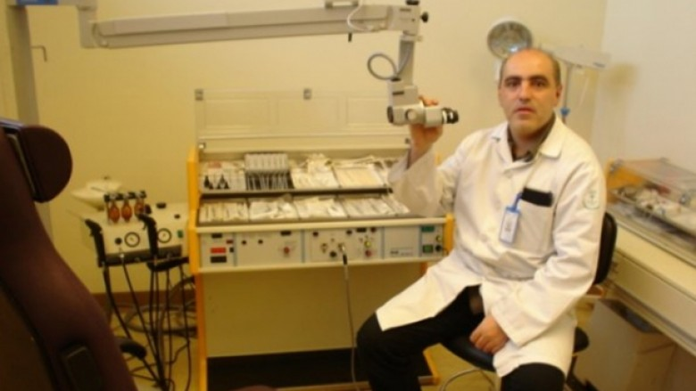Dr. Dugagjin Spanca, Otorinolaringolog