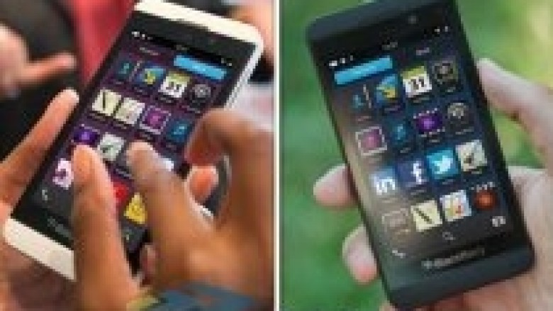 Rrjedhin pamjet e fundit të BlackBerry z10