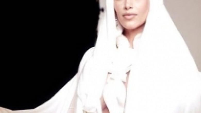 Kim 'mbulohet' për revistën arabe (Foto)