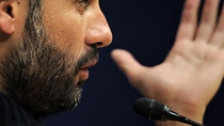 Guardiola mirëpret presionin