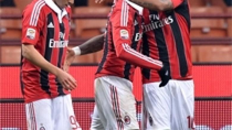 Tri pikë të reja për Milanin