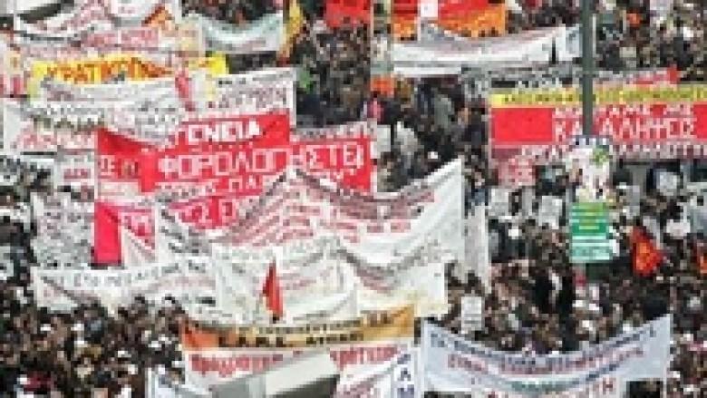 Greqi, protestojnë punëtorët e metros