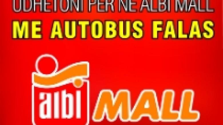Transport falas për në Albi Mall