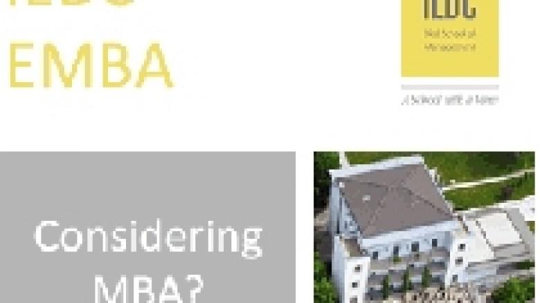 Bëni një hap përpara në karrierën tuaj me diplomë në MBA