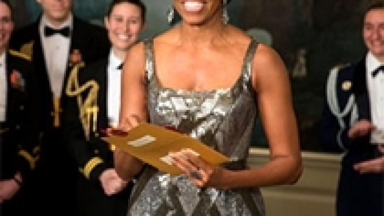Iranianët e veshën Michelle Obaman (Foto)