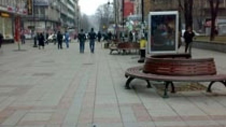 Një person i plagosur në Rashçe të Shkupit