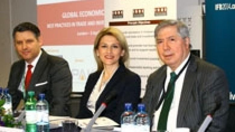 Ministrja Kusari – Lila në Forumin Global Ekonomik në Londër