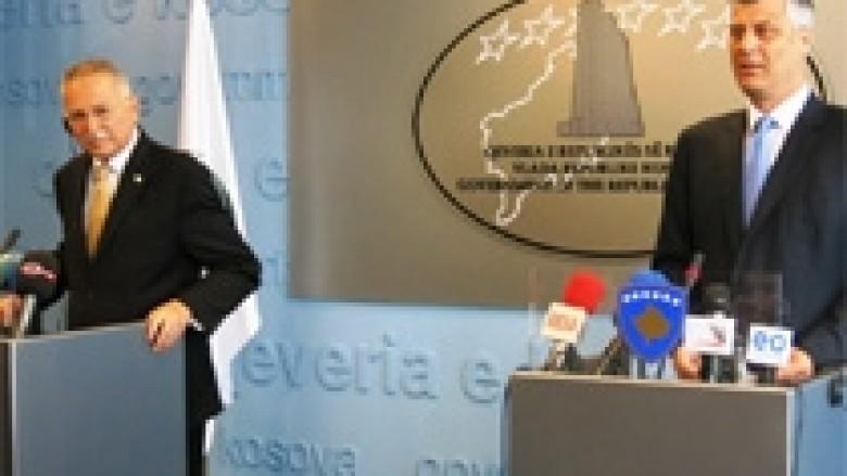 Thaçi: Marrëveshja me Serbinë, pas 100 vite të konfliktit