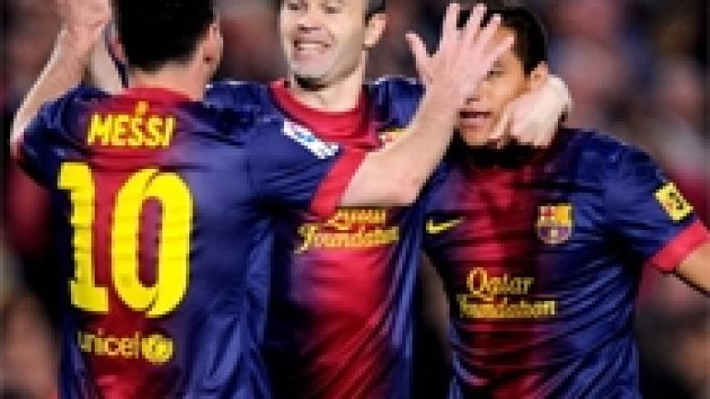 Mourinho-Iniestas: Pa Messin, jeni të zbehtë