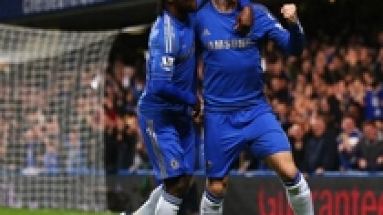 Chelsea hesht kritikët, e palon Villan