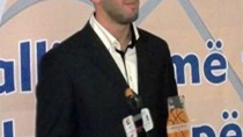 Drilon Hajrizi, basketbollisti i vitit 2012