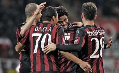 Milani del në humbje
