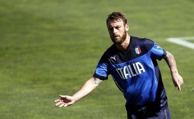 De Rossi mungon sërish në stërvitje, 90% mungon ndaj Gjermanisë