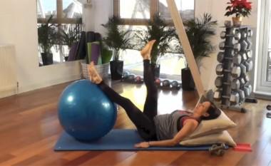 Ushtrimet pilates gjatë shtatzënësisë (video)