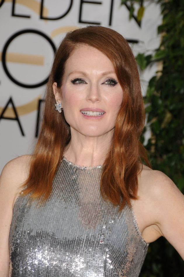 Jan. 11, 2015 - Los Angeles, CA, United States - Jan 11, 2015 - Los Angeles, CA, United States - Actress JULIANNE MOORE at the 72nd Golden Globe Awards held at the Beverly Hilton, Los Angeles., Image: 215197504, License: Rights-managed, Restrictions: , Model Release: no, Credit line: Profimedia, Zuma Press - Archives