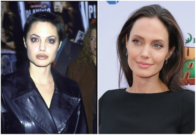 Angelina Jolie, 22 dhe 40 vjeç