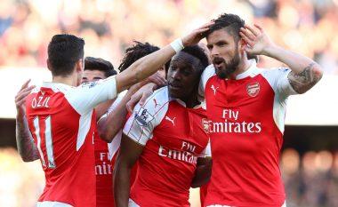 Fiton Arsenali, ngjitet në pozitën e tretë  (Video)