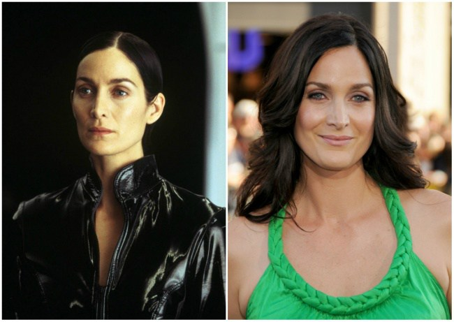 Carrie-Anne Moss, 32 dhe 48 vjeç