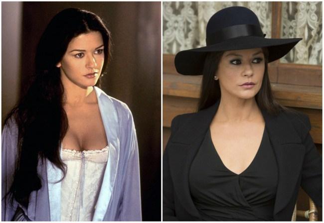 Catherine Zeta-Jones, 29 dhe 46 vjeç