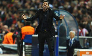 Simeone ankohet te UEFA, dyshon për një helikopter që fluturoi gjatë stërvitjes (Foto)