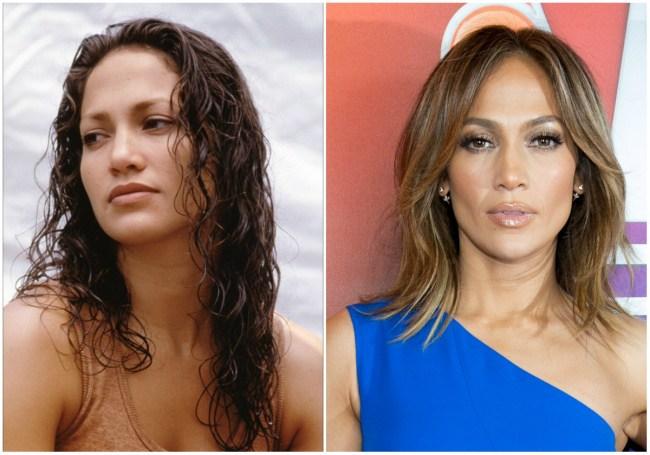 Jennifer Lopez, 28 dhe 46 vjeç