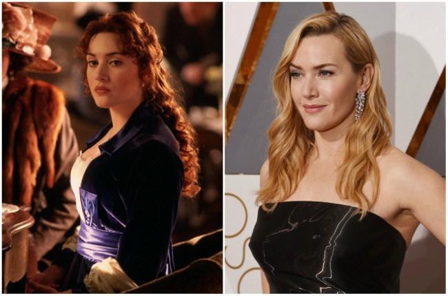 Kate Winslet, 22 dhe 40 vjeç