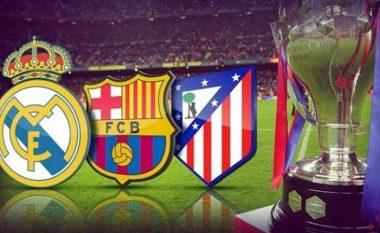 Dy ndeshjet e mbetura të Barcës, Atletico dhe Realit, xhiro e ardhshme mund të sjellë ndryshime thelbësore në tabelë (Sondazh)