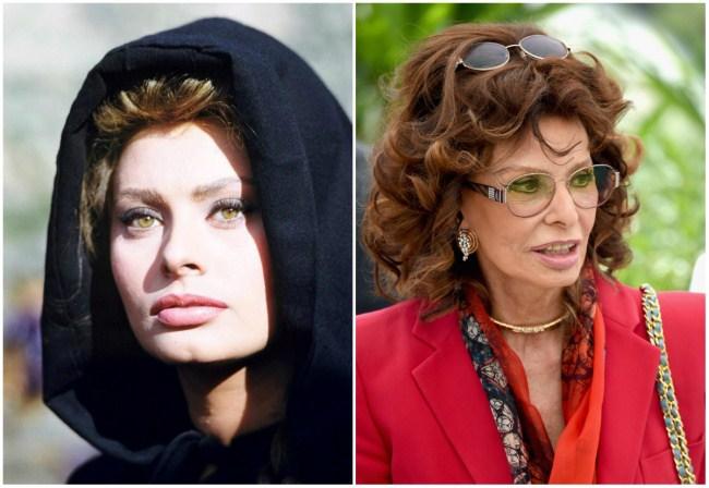 Sophia Loren, 27 dhe 81 vjeç