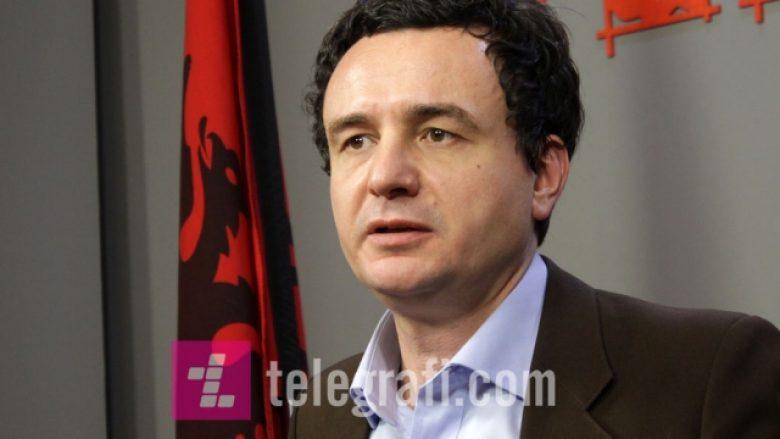 A u takua Albin Kurti me liderët e pushtetit? (Video)
