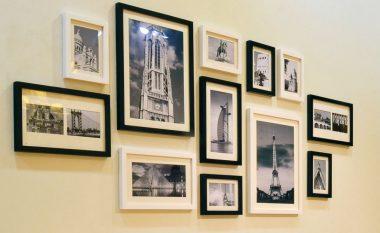 Dy ide kreative për t'i vendosur pikturat në shtëpi (FOTO)