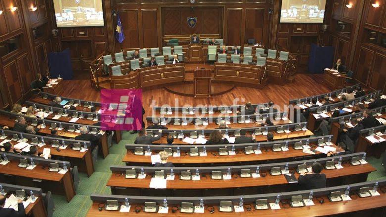 Kuvendi pa opozitën, makineri votimi