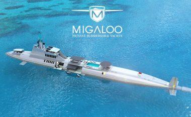 Njihuni me super jahtin luksoz që shndërrohet në nëndetëse (Video)