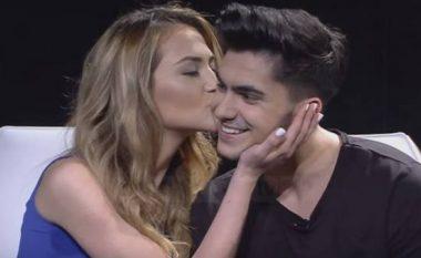 Butrinti kapet me prezantuesen që e puthi në emision (Foto/Video)