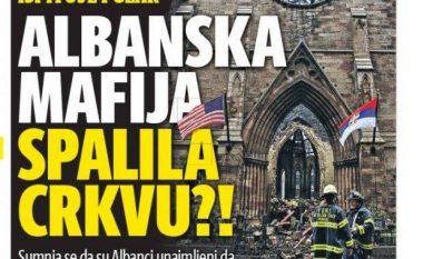 Kurir: Shqiptarët e dogjën kishën ortodokse serbe në New York