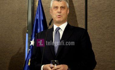 Presidenti Thaçi uron komunitetin goran