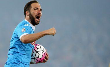 Higuain largohet nga Napoli vetëm për këtë klub anglez