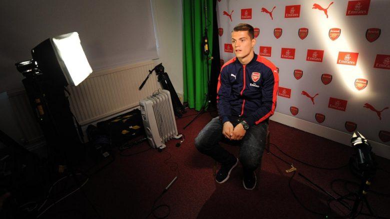 Intervista e plotë e Granit Xhakës pas transferimit në Arsenal (Foto)