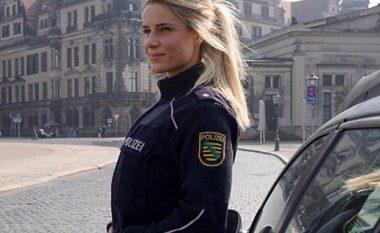 Policja gjermane që po çmend meshkujt në rrjetet sociale me linjat e saj trupore (Foto)