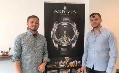 Vëllezërit nga Kosova, prodhues të orëve luksoze AkriviA (Foto/Video)