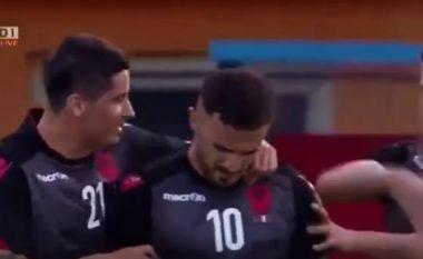 Shqipëria shënon golin e sigurisë (Video)