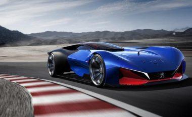 Koncept futuristik nga Peugeot (Foto)
