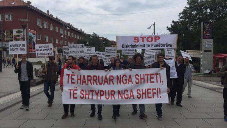 Marsh protestues kundër shkeljes të drejtave të punëtorëve