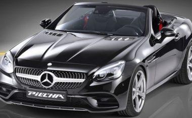 Modifikim në paketën për aerodinamikën e Mercedes SLC (Foto)