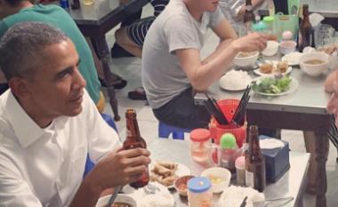 Ushqimi që konsumoi Obama në Vietnam kushtoi vetëm 6 dollarë (Foto)