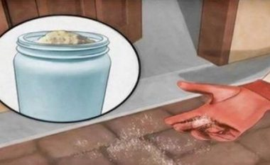 Nëse milingonat kanë 'pushtuar' shtëpinë tuaj, hidhni kripë