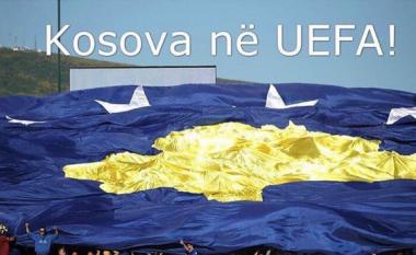 Yjet të lumtur për pranimin e Kosovës në UEFA (Foto)