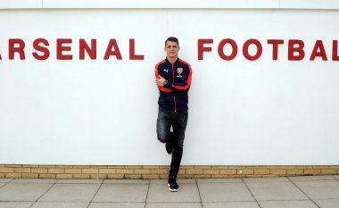 Ja çfarë ka bërë faqja zyrtare e Arsenalit në Facebook për Xhakën (Foto)